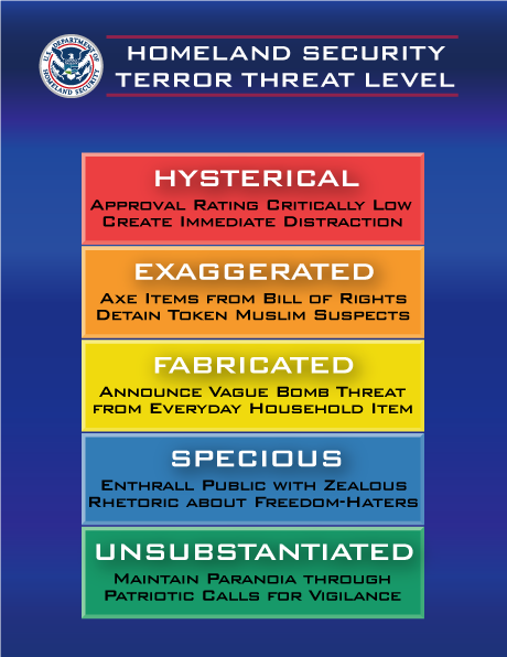 Homeland Security Threat Chart - lurkertech.